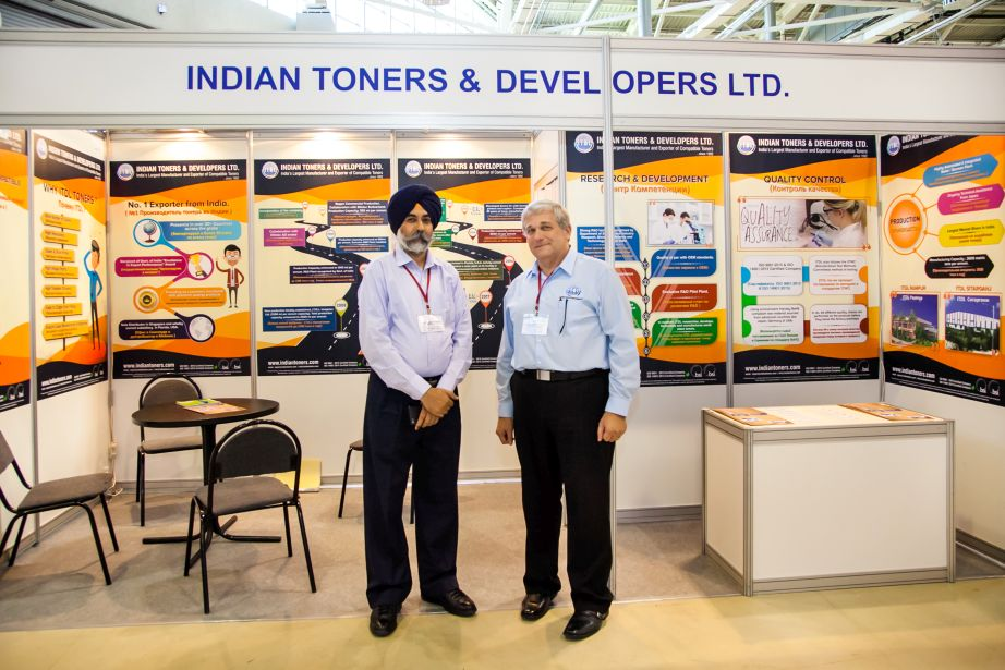 Indian Toners' Booth at inform-expo-2019