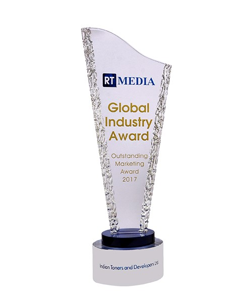 RT Media Global Industry Award, for Outstanding Marketing, 2017